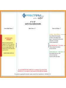 016 X Gate Fold Brochure Template Good 9X12 Incredible Ideas within Gate Fold Brochure Template Indesign