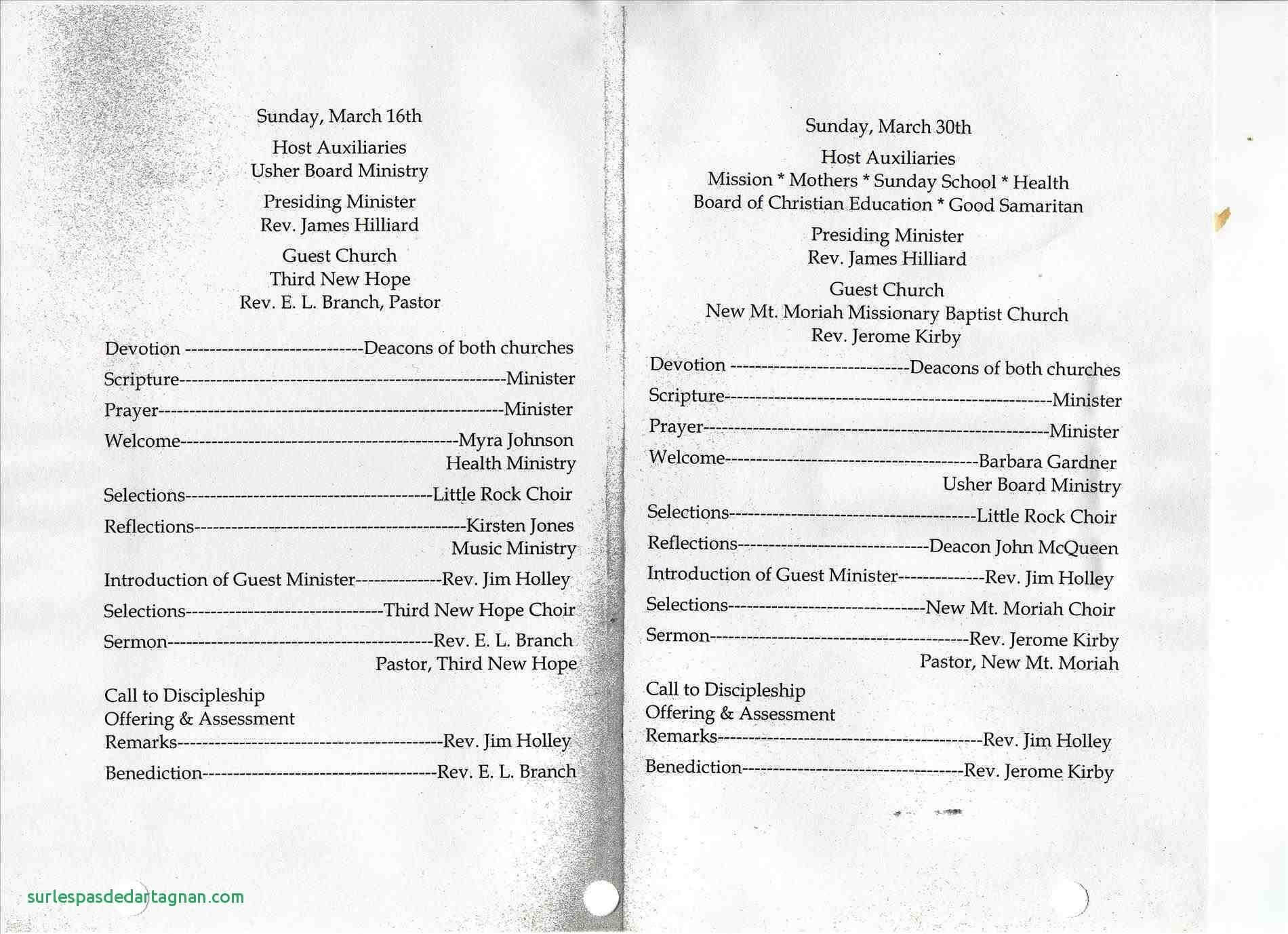Free Church Templates Microsoft Word - The Best Church Flyer Inside Church Program Templates Word