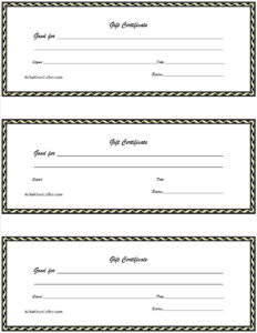 017 Free Printable Gift Certificates Template Ideas T Bunch with Homemade Christmas Gift Certificates Templates