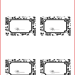 017 Place Cards Template Beautiful Free Card Your Own Letter In Free Template For Place Cards 6 Per Sheet