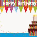 017 Template Ideas Birthday Card Photoshop Sensational Within Photoshop Birthday Card Template Free