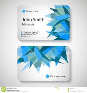 017 Template Ideas Office Business Card Vector Illustration regarding Office Max Business Card Template