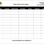 018 Daily Task List Template Todo Top Ideas To Do For Word Intended For Daily Task List Template Word