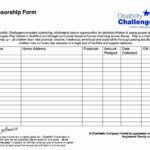 018 Example Sponsor Form Template Free Ideas Event Unusual For Blank Sponsorship Form Template