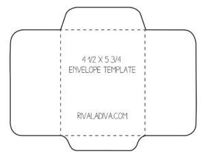 018 Free Printable Envelope Templates Fake Insurance Cards within Envelope Templates For Card Making