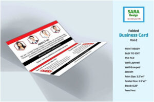 018 Tri Fold Business Cards New Card Template Word Folded intended for Card Folding Templates Free