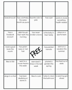 019 Blank Bingo Card Template Microsoft Word Best Of Pdf within Blank Bingo Template Pdf