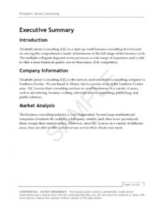 019 Business Plan Industry Overview Example Template Pdf within Industry Analysis Report Template