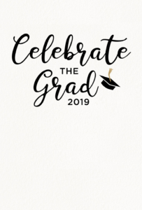 019 Printable Word Free Graduation Party Invitation in Graduation Party Invitation Templates Free Word