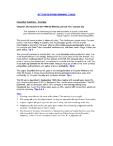 019 Template Ideas One Page Executive Summary Report Zaxa Tk inside Executive Summary Report Template