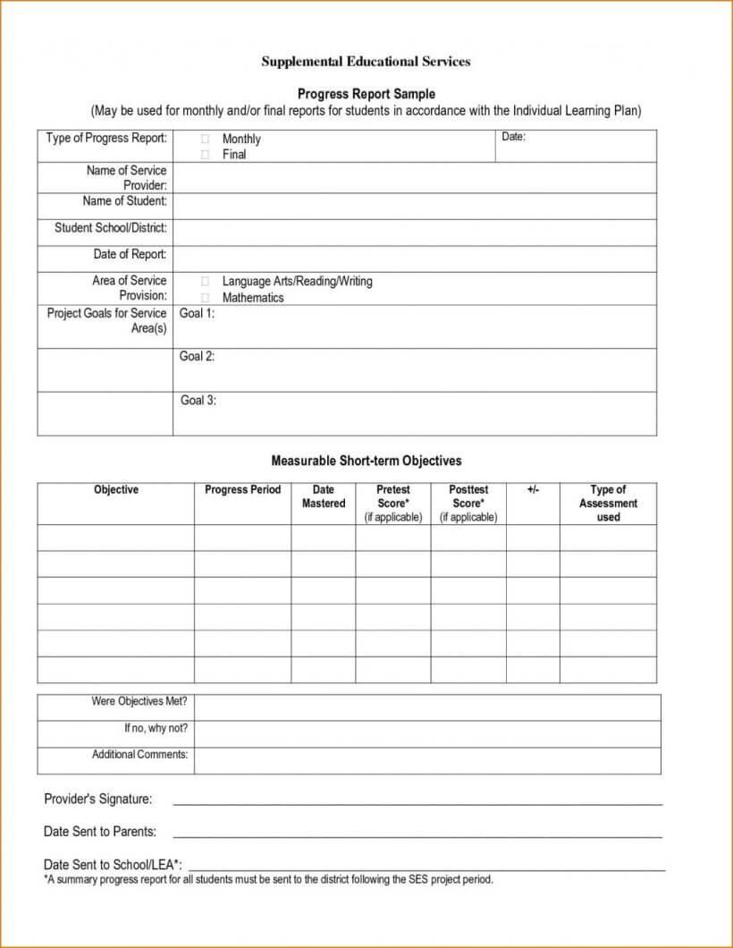 020 Homeschool Report Card Template Free Professional With Regard To Middle School Report Card Template
