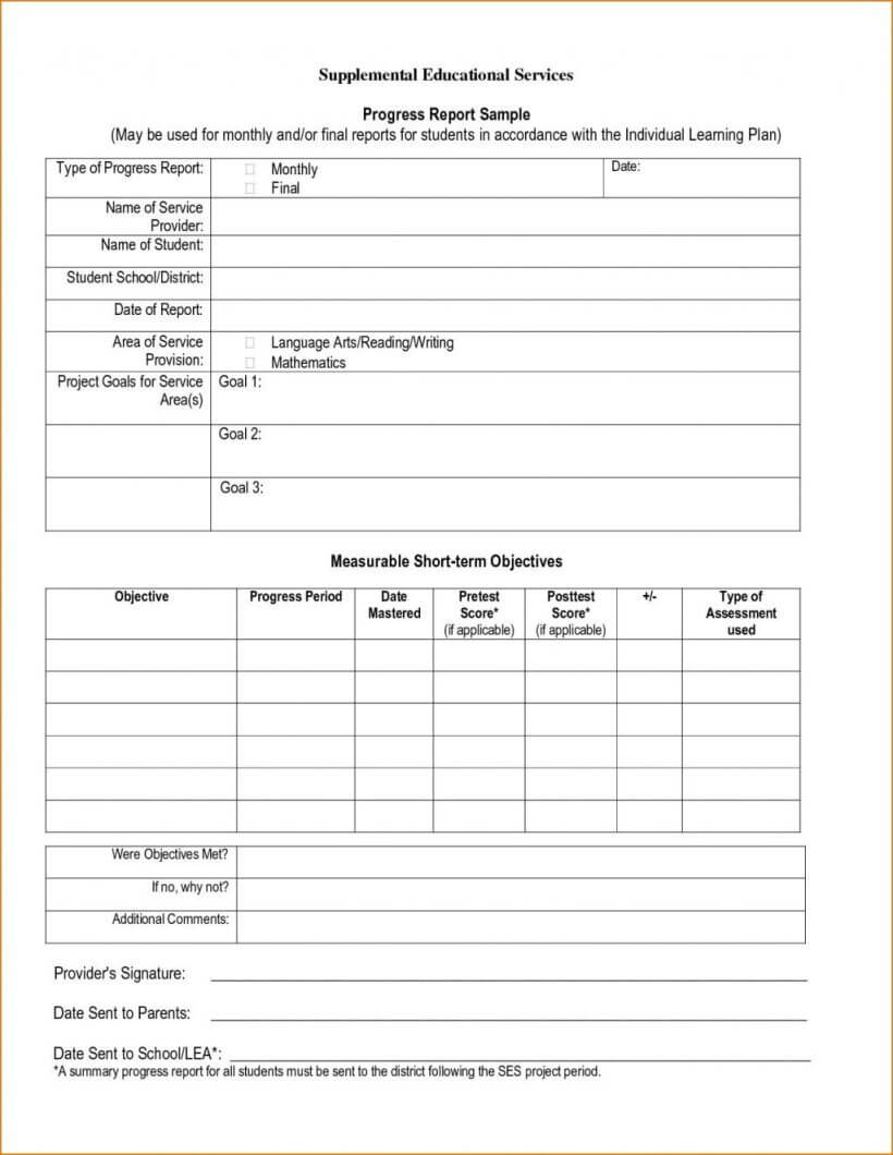 020 Homeschool Report Card Template Free Professional With Report Card Template Middle School