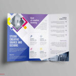 020 One Page Brochure Template Free Luxury Tri Fold Word Pertaining To Single Page Brochure Templates Psd