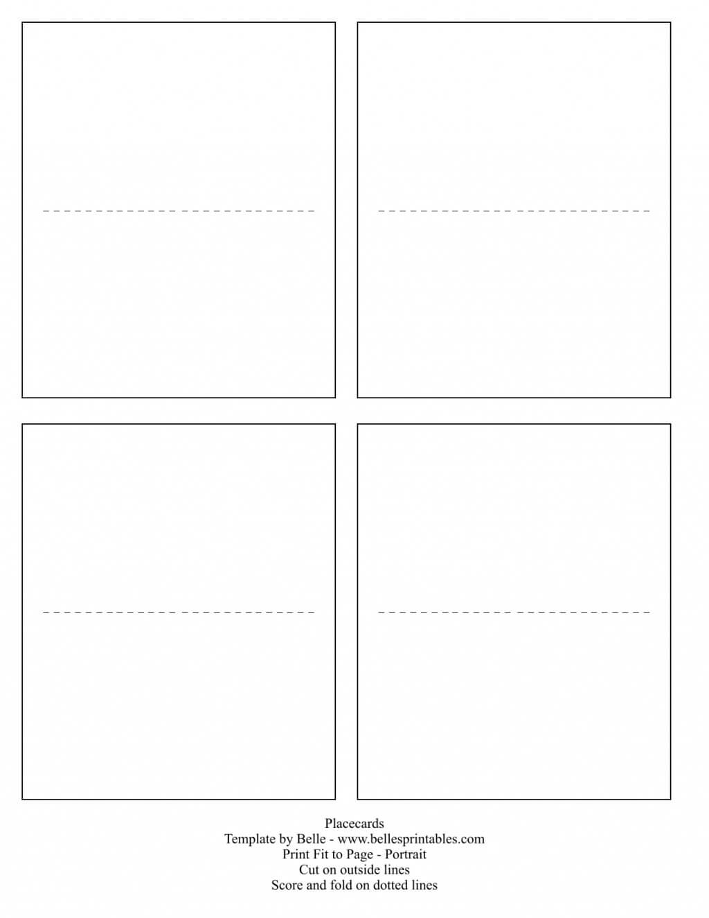 020 Place Cards Template Ideas Placement Card Formidable Within Imprintable Place Cards Template