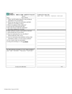 020 Printable Medication List Wallet Card 194769 Nursing intended for Medication Card Template