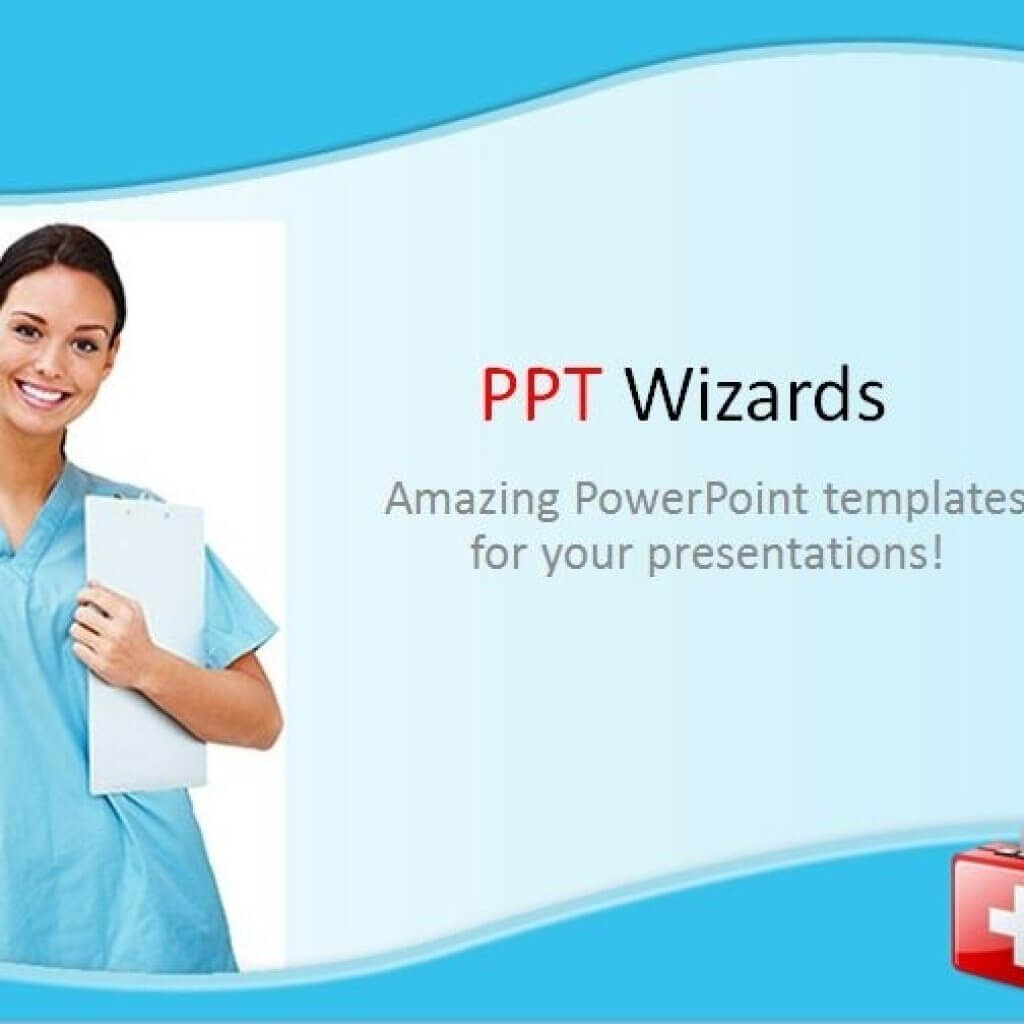 021 Free Nursing Powerpoint Templates Template Ideas Throughout Free Nursing Powerpoint Templates