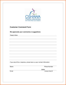 021 Restaurant Comment Card Template Ideas My Survey Cards throughout Customer Information Card Template