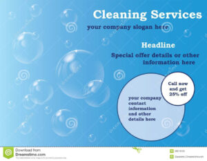 021 Template Ideas Free Editable Flyer Templates Cleaning pertaining to Cleaning Brochure Templates Free