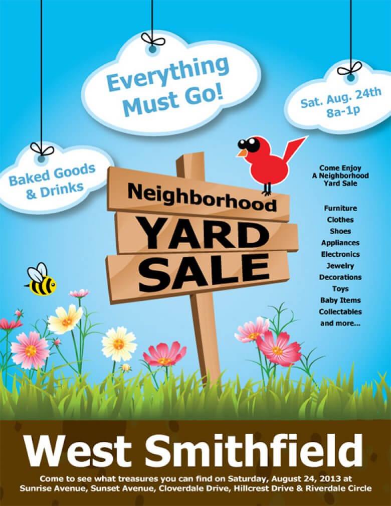 021 Yard Sale Flyer Template Best Templates Amp Psd Designs In Yard Sale Flyer Template Word