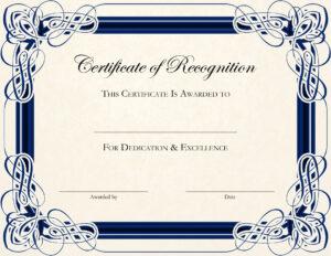 022 Award Certificate Template Word Ideas Certificates for Blank Award Certificate Templates Word