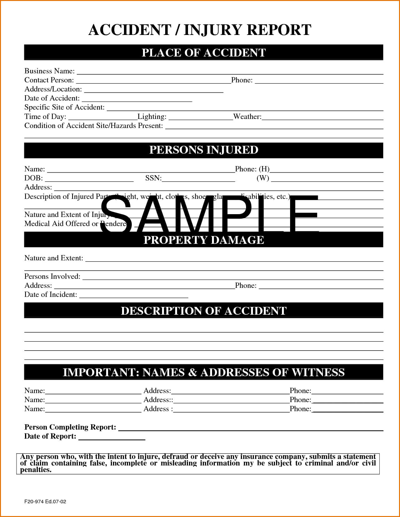 022 Itil Incident Report Form Template Awesome Free Pertaining To Medical Report Template Free Downloads