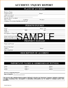 022 Itil Incident Report Form Template Awesome Free regarding Patient Report Form Template Download