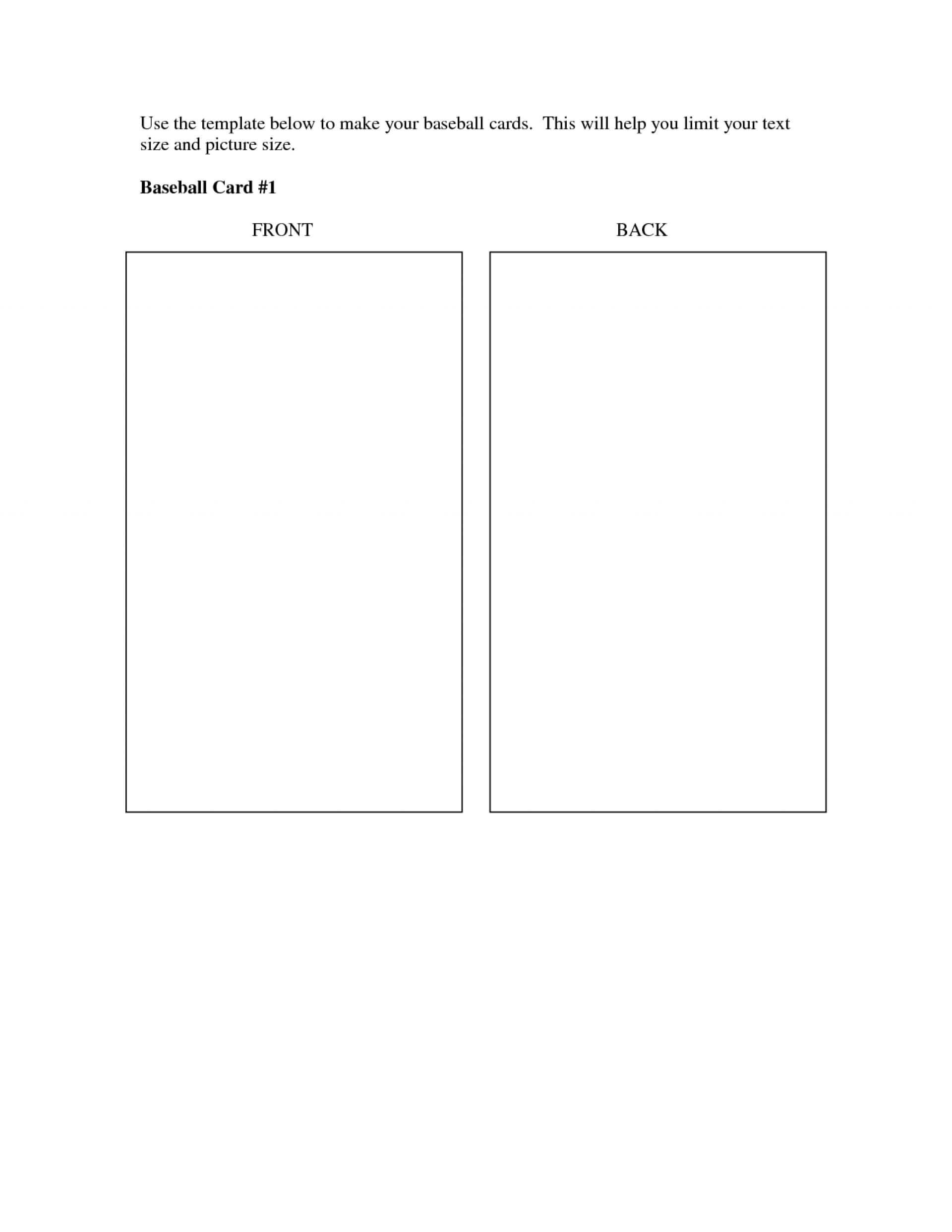 023 Baseball Card Template Best Of Word Soccer Trading Throughout Baseball Card Template Word