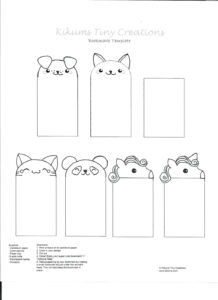 023 Printable Animal Bookmarks Classicoldsong Me To Make And with Free Blank Bookmark Templates To Print