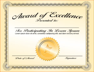 027 Certificate Of Achievement Template Word Excellence intended for Certificate Of Achievement Army Template