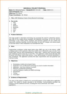 029 Business Plan Proposal Template Information Technology throughout Software Project Proposal Template Word