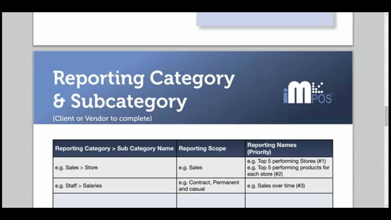 1 – Yellowfin Report Specification Template Intended For Report Specification Template