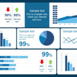 10 Best Dashboard Templates For Powerpoint Presentations inside Free Powerpoint Dashboard Template