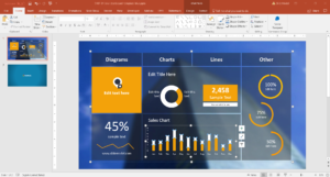 10 Best Dashboard Templates For Powerpoint Presentations throughout Free Powerpoint Dashboard Template