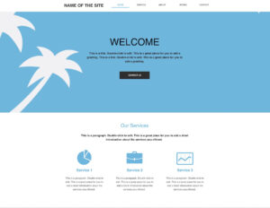 10+ Best Free Blank Website Templates For Neat Sites 2019 inside Blank Food Web Template