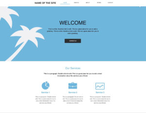 10+ Best Free Blank Website Templates For Neat Sites 2019 inside Html5 Blank Page Template