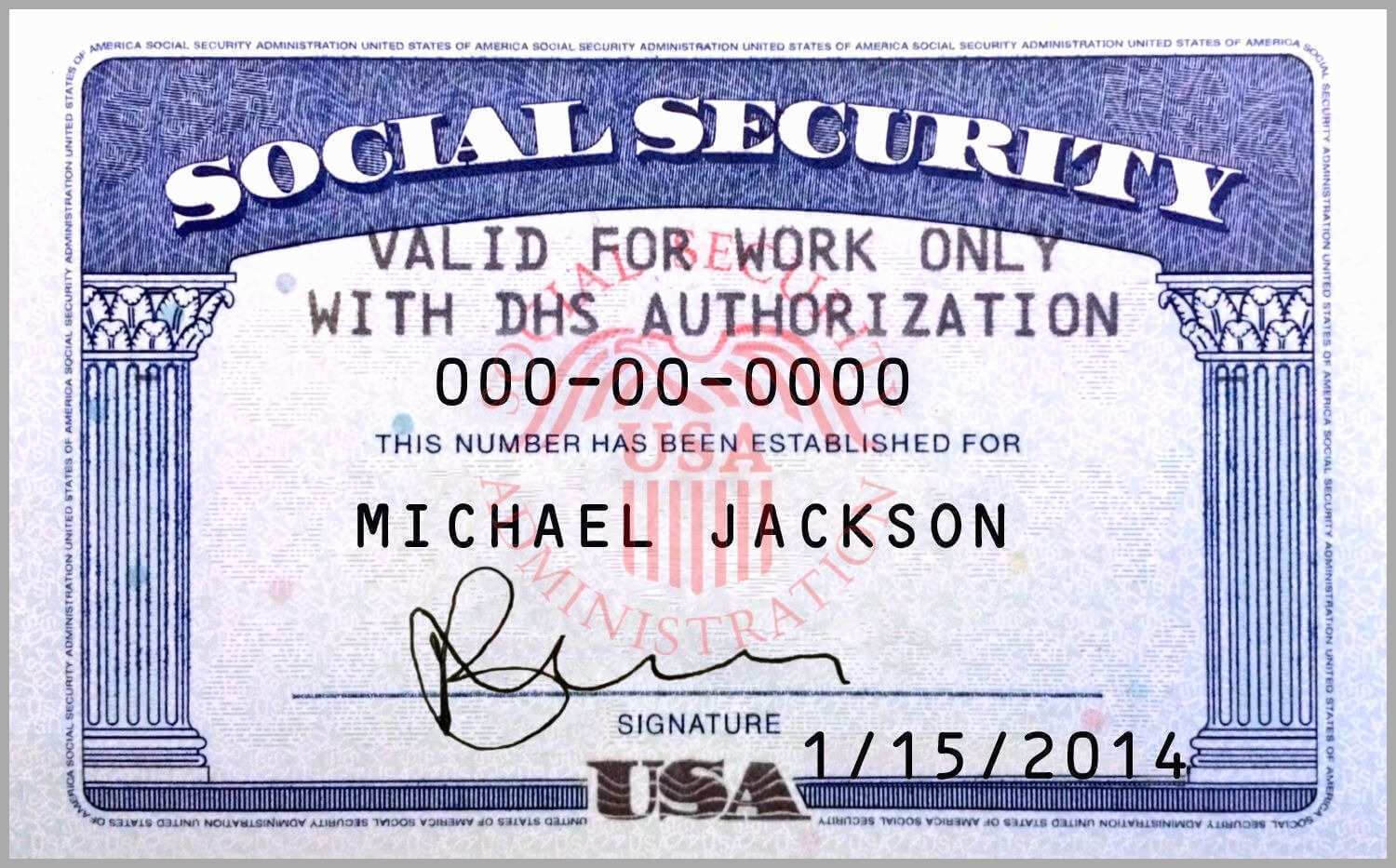 10 Blank Social Security Card Template | Proposal Sample For Blank Social Security Card Template