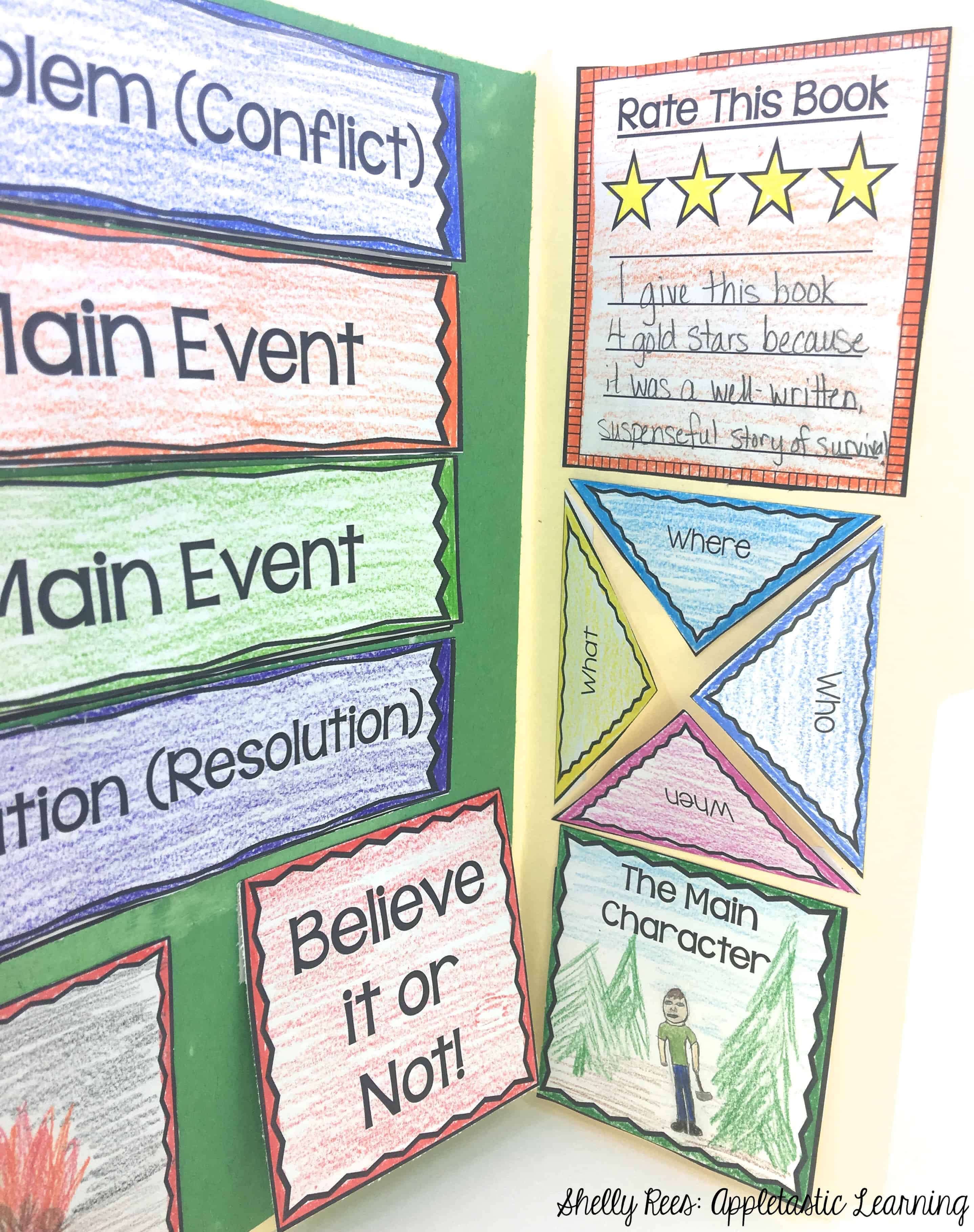 10 Book Report Ideas That Kids Will Love - Appletastic Learning Pertaining To Paper Bag Book Report Template