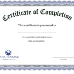10 Certificate Of Completion Templates Free Download Images For Blank Certificate Templates Free Download