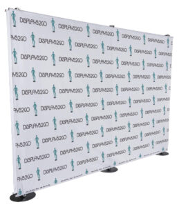 10' Custom Printed Banner For Trade Show Backdrops, Double Sided regarding Step And Repeat Banner Template