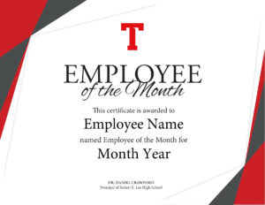 10+ Employee Of The Year Certificate Templates | This Is inside Employee Of The Year Certificate Template Free