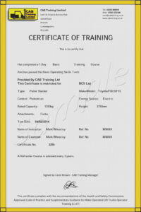 10 Facts That Nobody Told You About Forklift | Invoice Form inside Forklift Certification Card Template