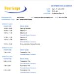 10+ Free Meeting Agenda Templates For Microsoft Word Pertaining To Free Meeting Agenda Templates For Word