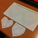 10 Images Of Spiral Pop Up Hearts Template | Somaek Inside Heart Pop Up Card Template Free
