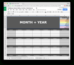 10 Ready-To-Go Marketing Spreadsheets To Boost Your within Monthly Productivity Report Template