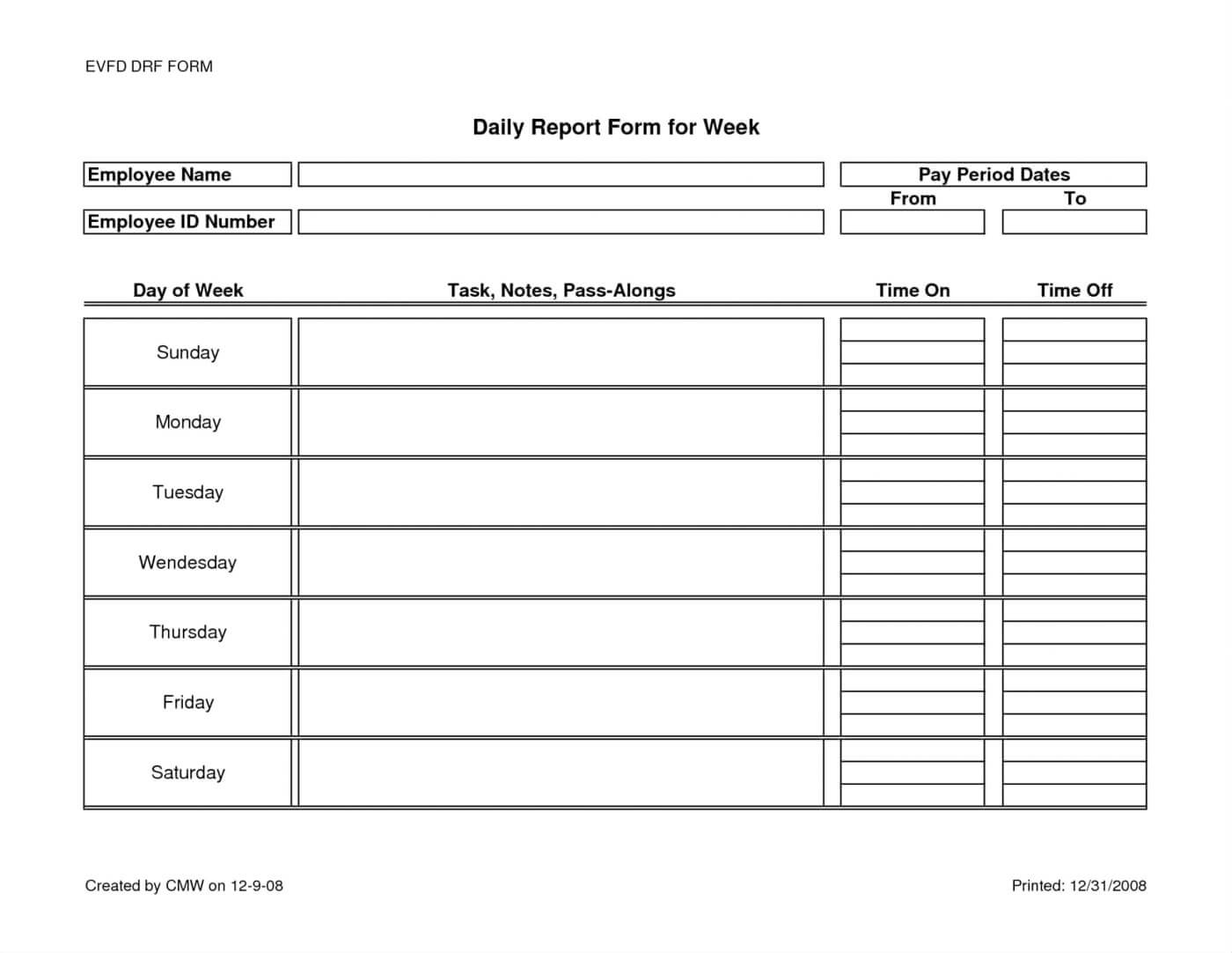 10 Sbar Nursing Report Template | Proposal Sample With Daily Report Sheet Template