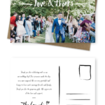 Template For Wedding Thank You Cards