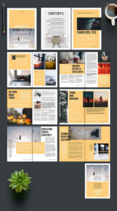 100+ Free & Premium Brochure Design Psd Templates | Projects with regard to Online Brochure Template Free