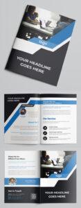100 Professional Corporate Brochure Templates | Design inside Technical Brochure Template
