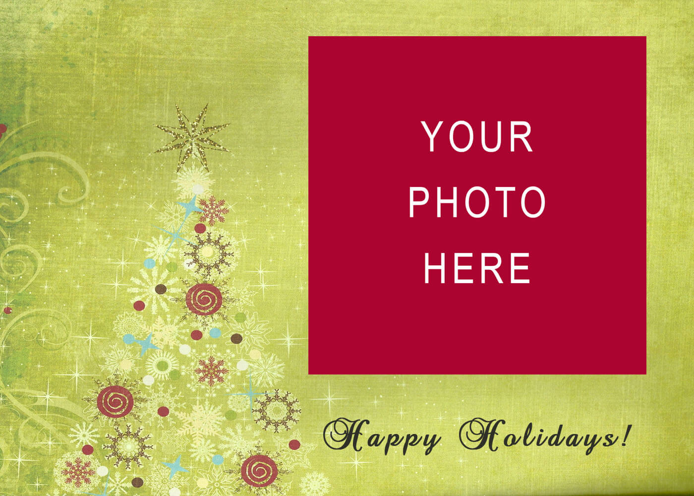 11 Christmas Card Templates Free Download Images - Christmas In Christmas Photo Cards Templates Free Downloads