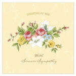 11 Free, Printable Condolence And Sympathy Cards throughout Sorry For Your Loss Card Template